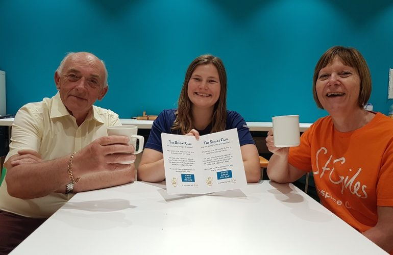 New Sunday club is supporting people living with loneliness