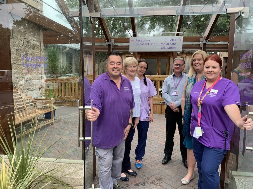 Ayrshire Hospice opens to the public to mark 30th anniversary