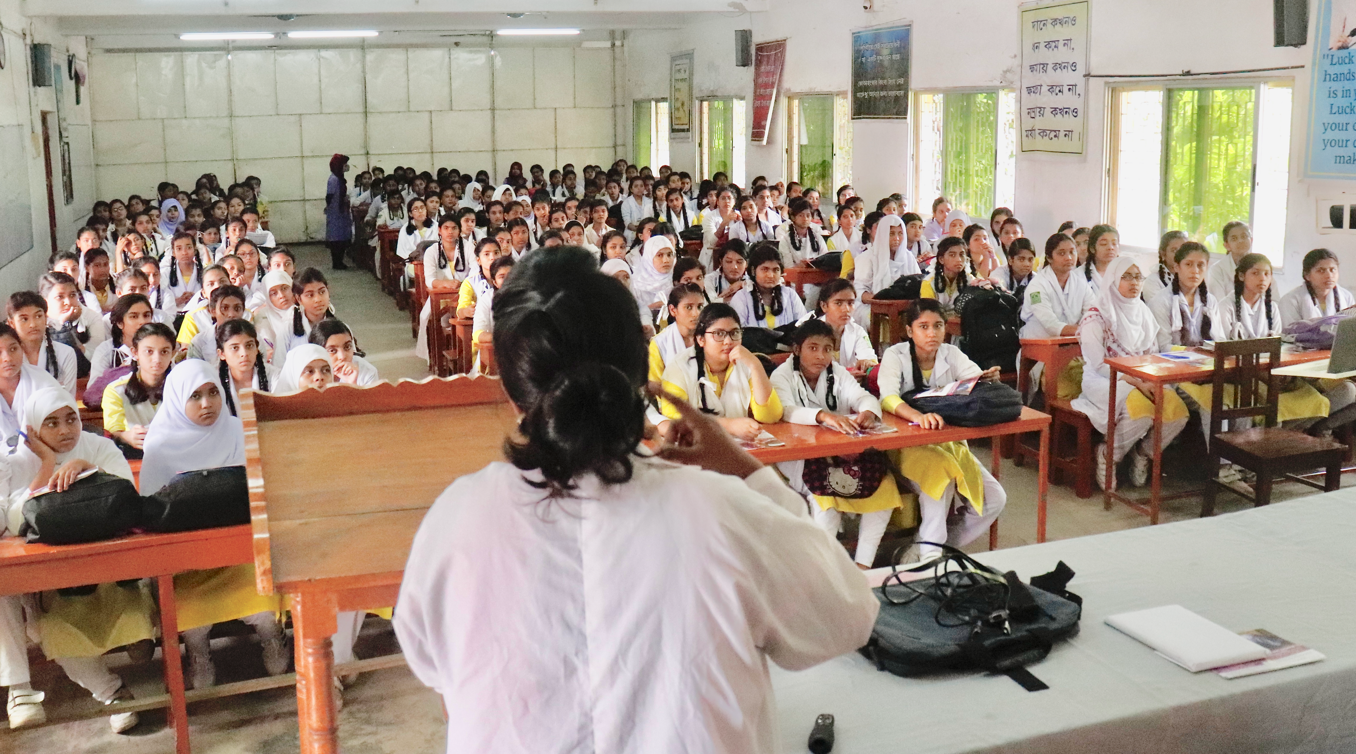 Launch of first school-based orientation in palliative care, Bangladesh