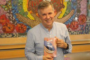 Retired Consultant Claud Regnard has donated over 200 copies of his debu...