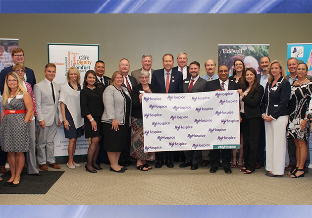 Tidewell Hospice Honors Congressman Vern Buchanan During NHPCO My Hospice Roundtable Event