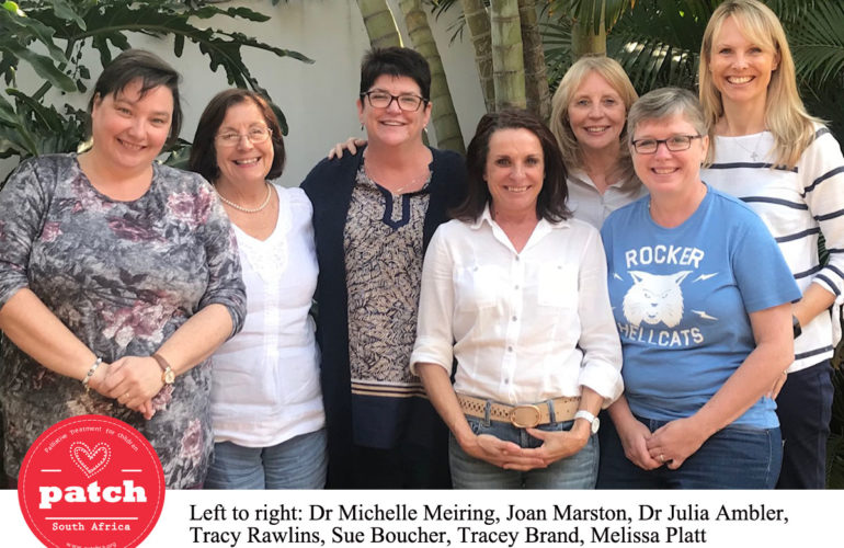 PatchSA prepares to roll out training across South Africa on children's pain and palliative care