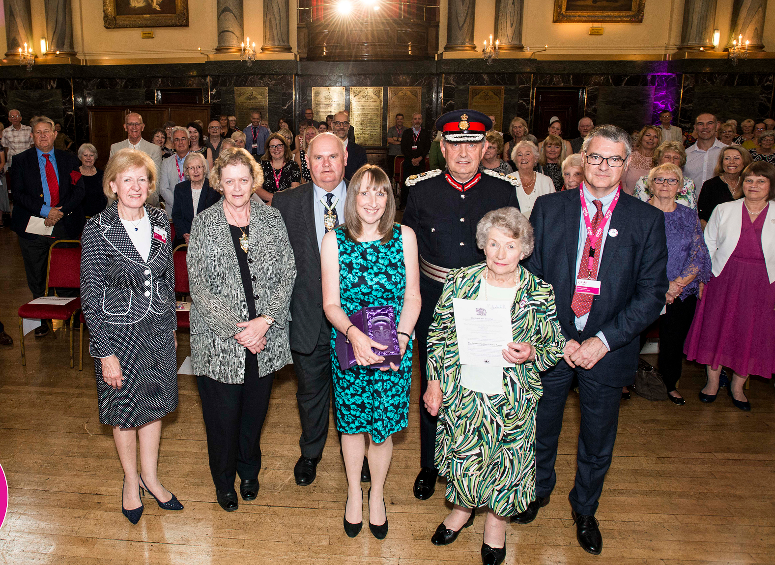 St Luke's Hospice volunteers receive Queen's Award