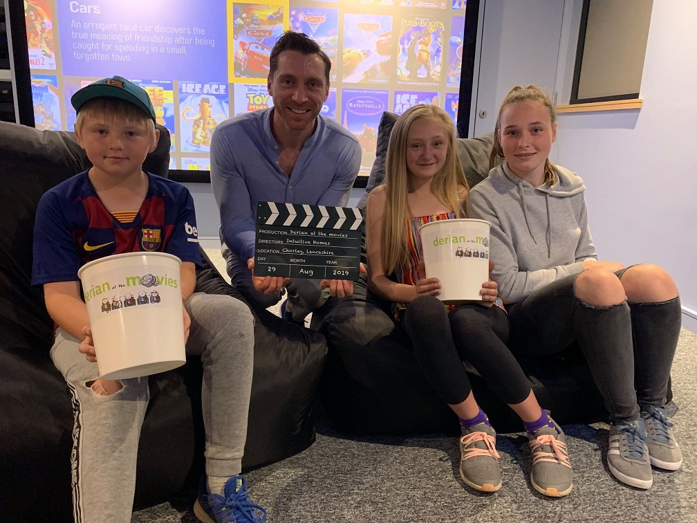 Accessible cinema opens at children's hospice