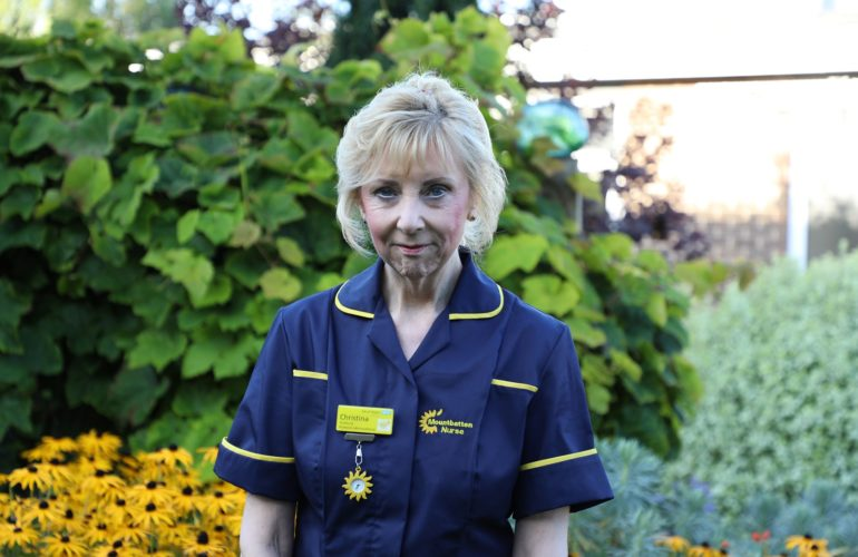 "Mountbatten nurse shortlisted for national ""Our Health Heroes"" award"