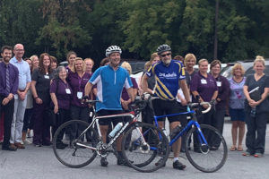 Hospice Doc's Cross-State Bike Ride Spreads Urgent Message.