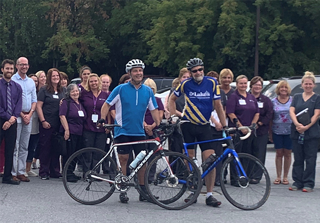 Hospice Doc's Cross-State Bike Ride Spreads Urgent Message