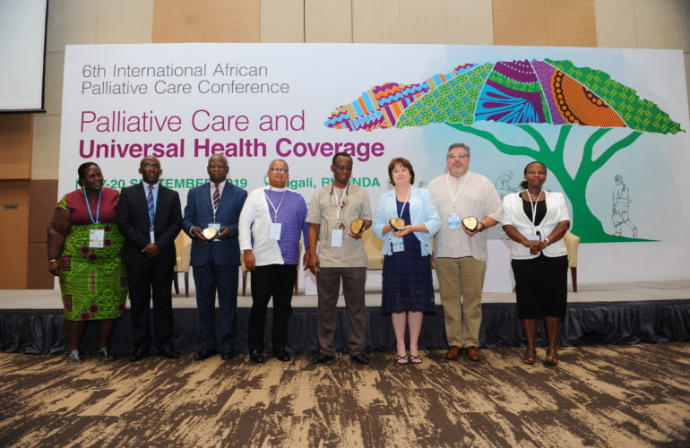 Champions, Advocates and Supporters of Palliative Care in Africa Recognised