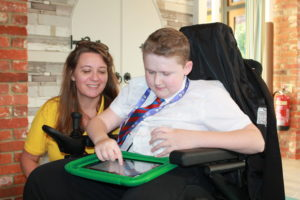 Lifelites Training Manager Caroline Jellyman and Joseph Harvey