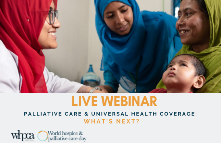 Free webinar: Palliative Care and Universal Health Coverage – What's next?