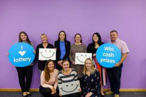 St Helena Hospice lottery team