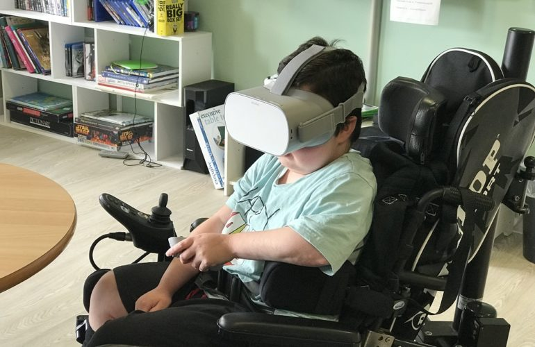 New technology offers virtual tour inside children's hospice