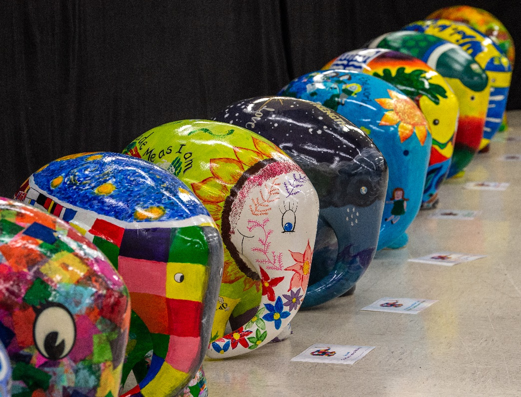 Elephant sculptures raise more than £300k for hospice