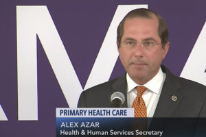 Secretary Azar Announces Release of Request for Applications for Primary Care First Seriously Ill Population Model Option