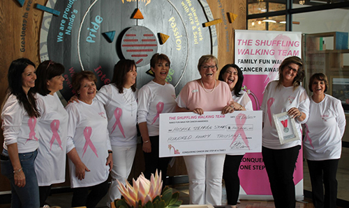 Walkers Donate R140 000 to Hospice