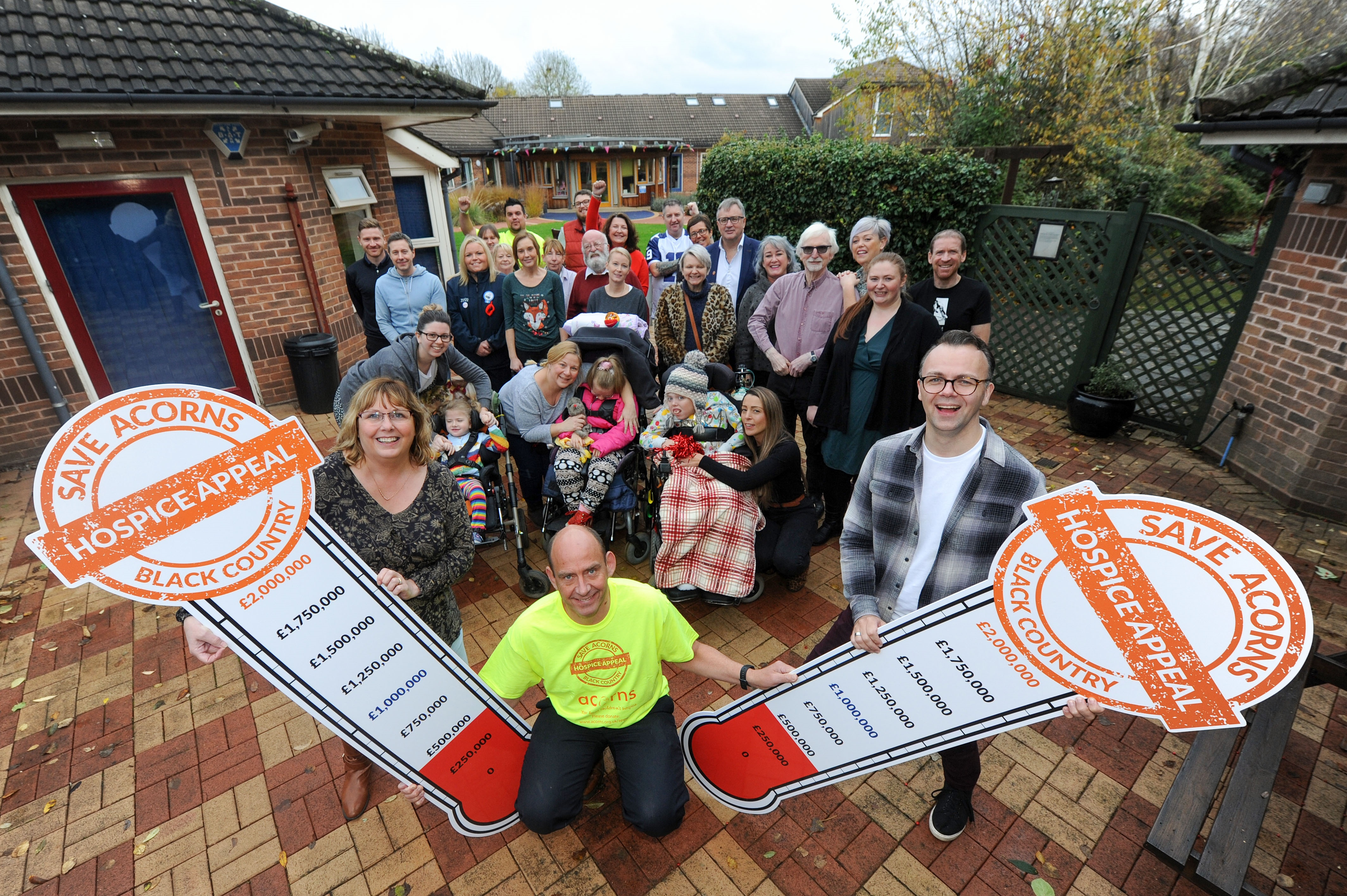 Hope grows for future of Acorns Children's Hospice, but still work to do