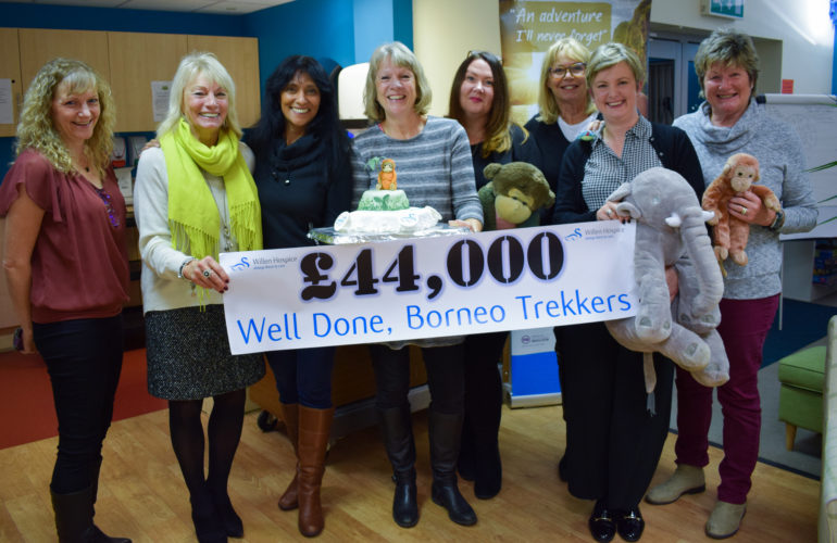 Borneo trekkers raise £44,000 for Willen Hospice