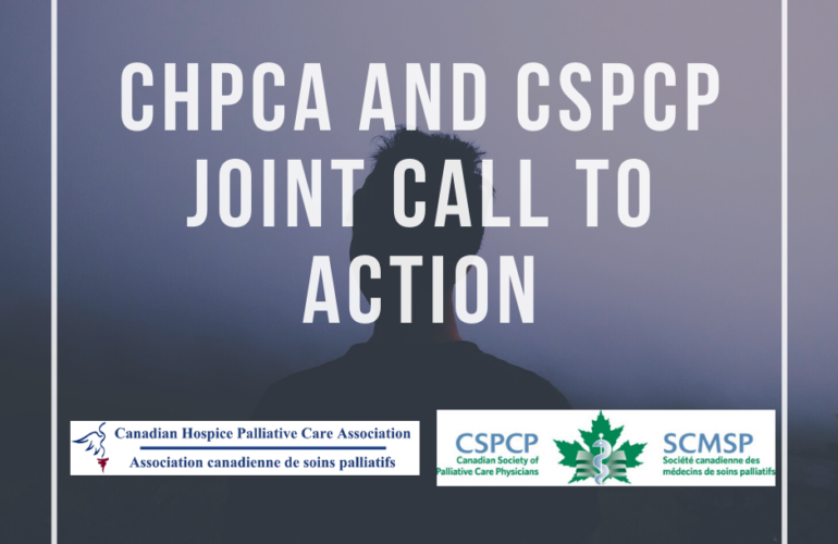 CHPCA and CSPCP – Joint Call to Action