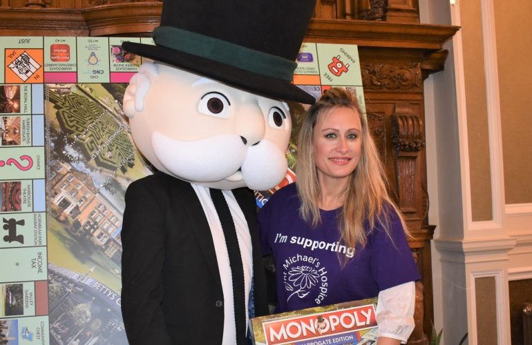 Hospice chosen to represent Harrogate on new Monopoly board