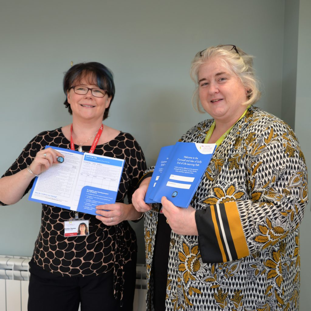 "New ""passport"" for education in end of life care launched in Cornwall"