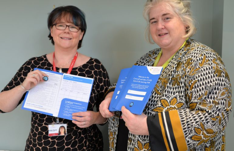 """New """"passport"""" for education in end of life care launched in Cornwall"""