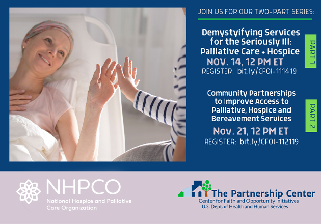 Balancing Care with Hope - Free Two-part Webinar Series