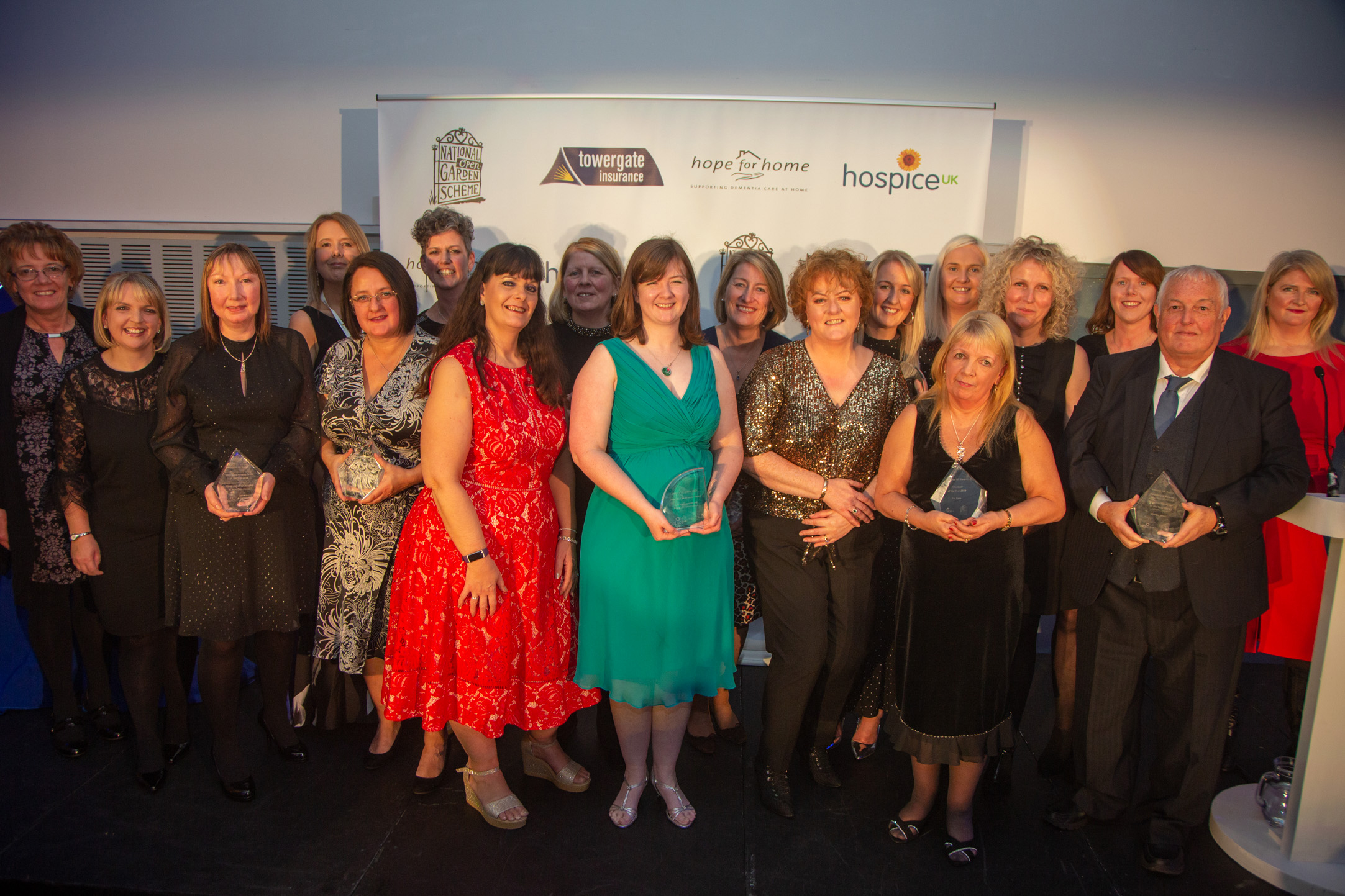 Inspiring projects are winners at Hospice UK 2019 awards