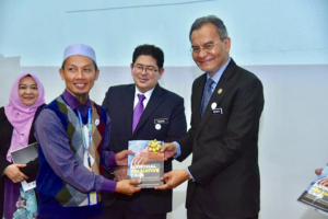 The Honourable Minister of Health, Dr Dzulkefly Ahmad at the launch of the palliative care policy on November 6th.