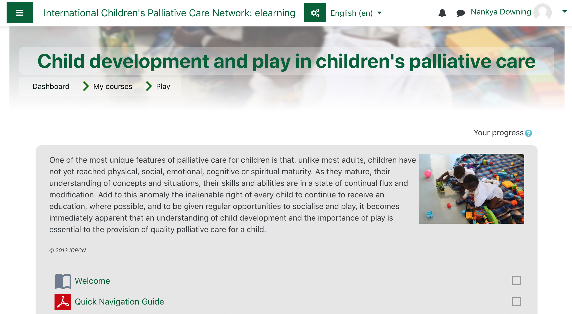 New improved ICPCN e-learning site goes live