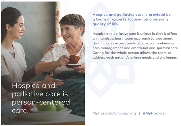 Learn more about value of hospice care