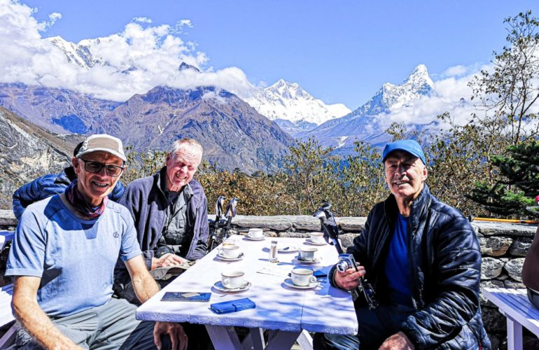 Trustees' Week: Trekking to Everest Base Camp for hospice care