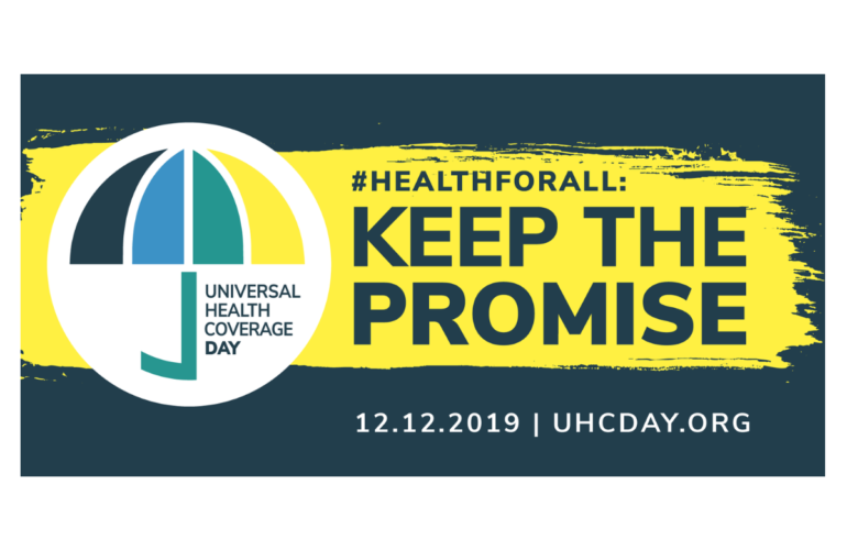 Joint Statement on Universal Health Coverage Day 2019.