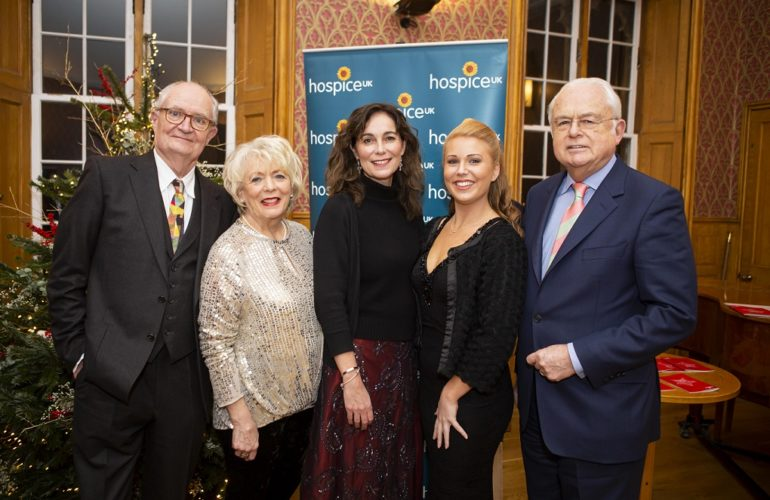 Jim Broadbent and Alison Steadman among the celebrities at Hospice UK's Christmas carol service