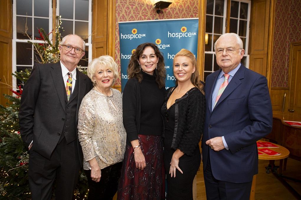 Jim Broadbent and Alison Steadman among the celebrities at Hospice UK's Christmas carol service