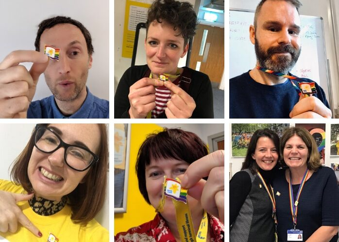 Marie Curie launches Rainbow Pin to support LGBTQ+ people at end of life