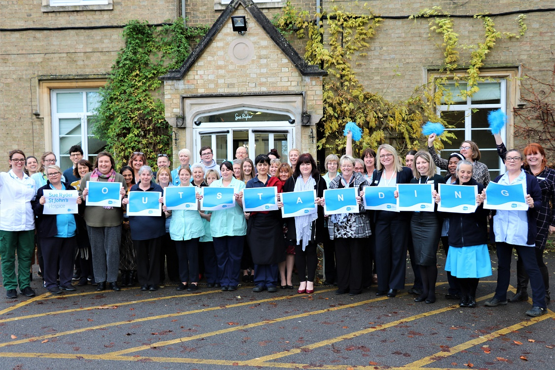 Bedfordshire hospice receives 'outstanding' rating from CQC