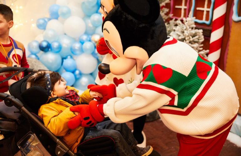 Disney and TfSL partnership helps families make most of their time together