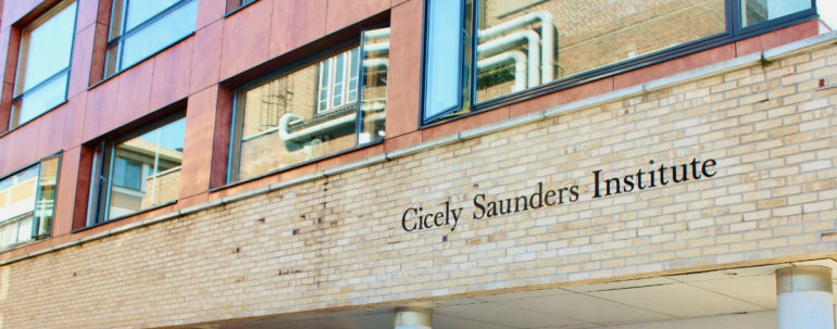 Cicely Saunders Institute to host interactive event on Palliative care Outcome Scale (POS) measures