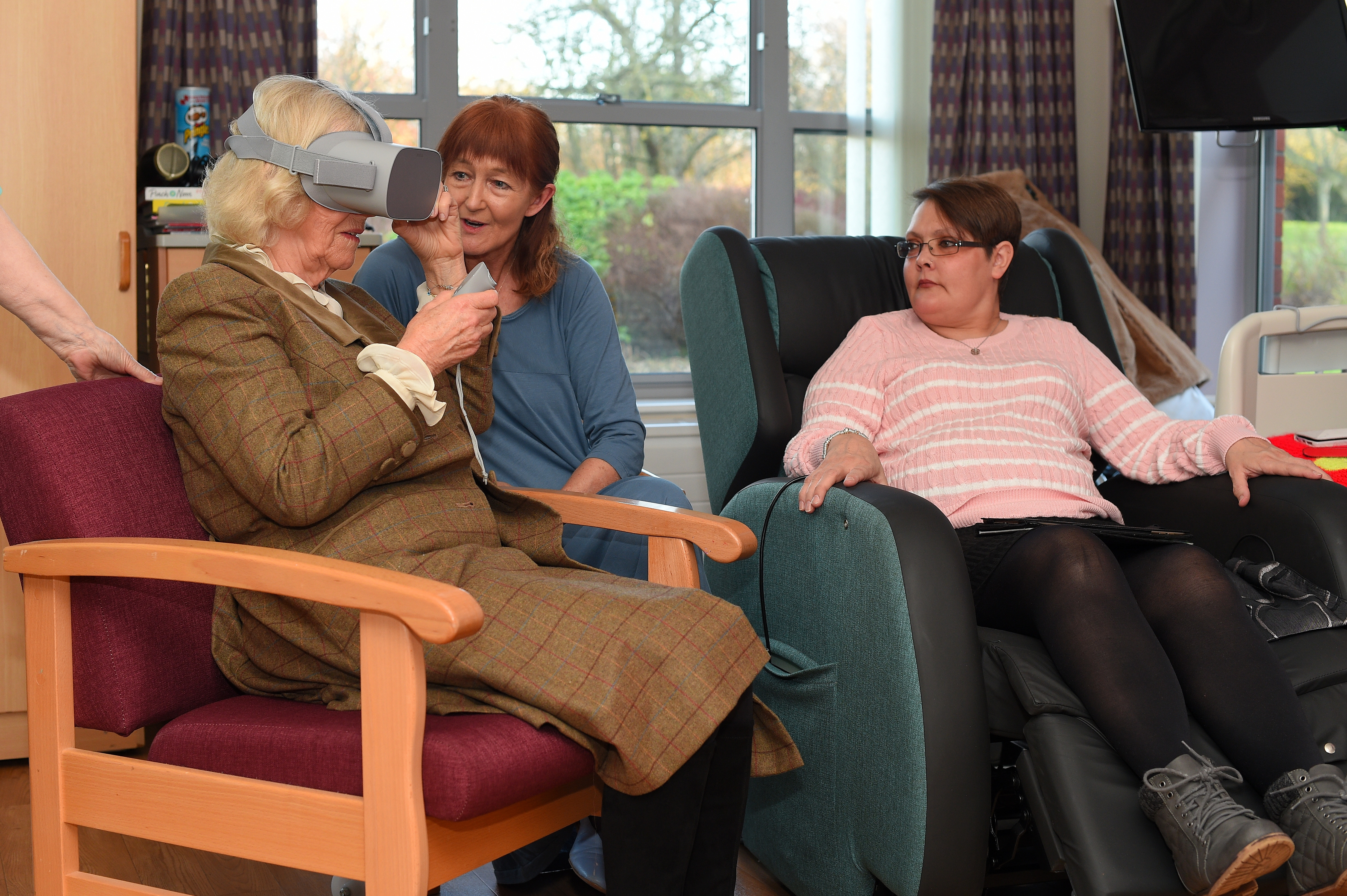 Duchess of Cornwall visits Prospect Hospice as part of its 40th anniversary celebrations