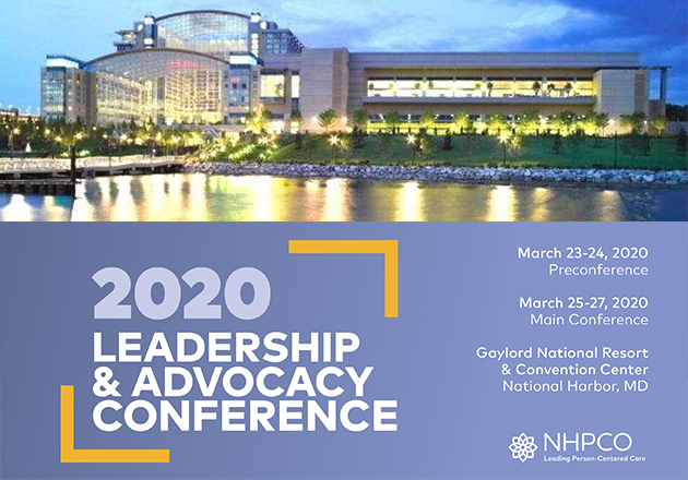 Registration is open for NHPCO Leadership and Advocacy Conference