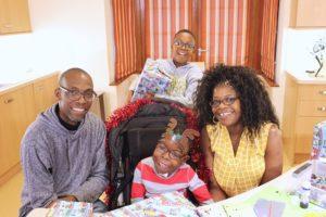 Omphile_Wandile_Busi_and Thabani at Francis House