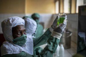 Rwanda morphine lab