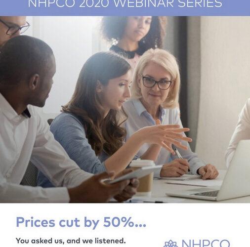 January webinars from NHPCO