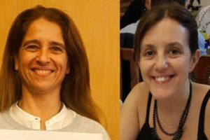 Sofía Bunge y Marcela Specos, Coordinadoras Comisión de Educación ALCP