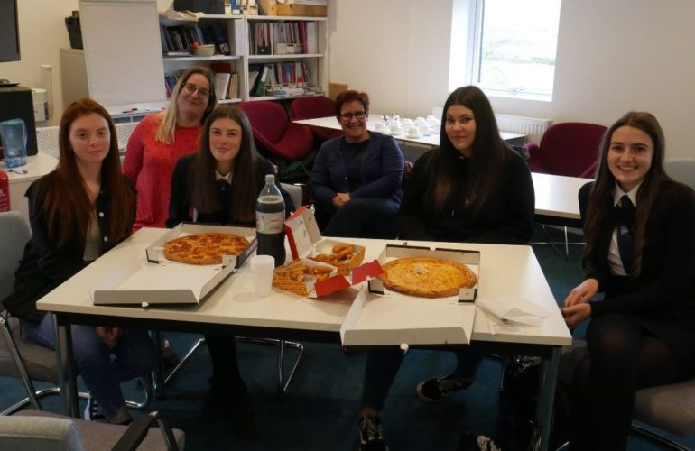 Hospice's 'Girls Group' helps young people feel stronger after bereavement