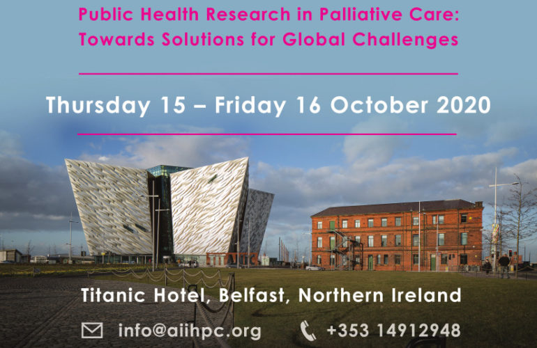 Public Health Research in Palliative Care: Towards Solutions for Global Challenges