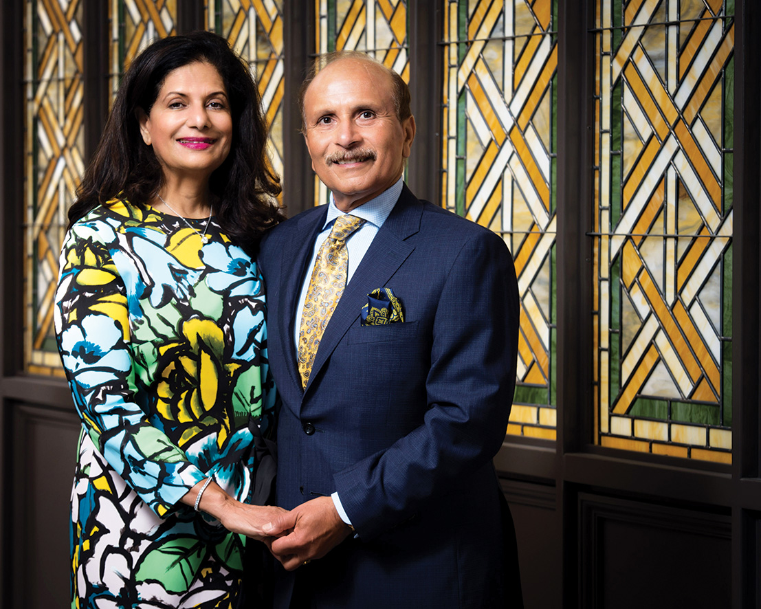 Drs. Zoreen and Rafat Ansari to be honored with Helping Hands Award from Center for Hospice Care