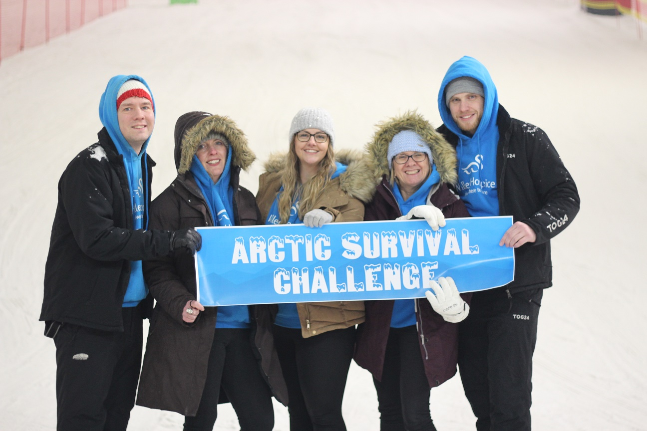Hospice launches Arctic survival challenge to raise funds