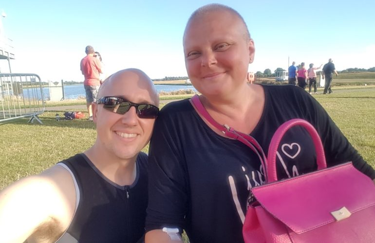 Patient's husband plans 14 challenges in six months to raise money for hospice