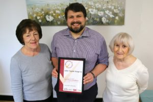John Taylor Hospice Investing in Volunteers
